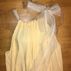 Dresses & Skirts - NEW!!! GORGEOUS! BOUTIQUE DRESS. Pale yellow.